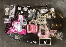 Playboy Merchandise Purses Tote Bags Slippers Wallets Etc.