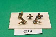 SGTS MESS G14 1/72 Diecast WWII German Tank Commanders-2 sets of 5 1/2 Figures
