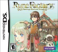 Rune Factory: A Fantasy Harvest Moon [Nintendo DS DSi, Natsume, Simulation RPG]