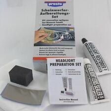 Presto Scheinwerfer Reparatur Set Politur Versiegelung für Scheinwerfer 365171