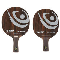Professional Table Tennis Ping Pong Racket Paddle Bat 7 Layers Shakehand/Penhold