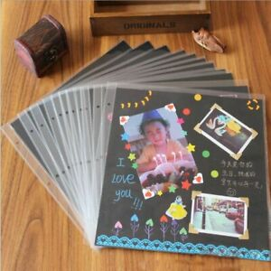 Baby Photo Album Case Binding Loose-leaf Photos Sticker Albums Wood Cover Decors