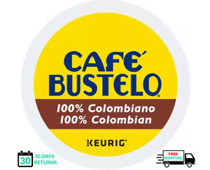 Bustelo 100% Colombian Keurig Coffee K-cups YOU PICK THE SIZE