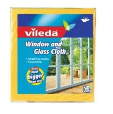 Vileda Window And Glass Cloth Streak Free Results. Long Lasting. Now Bigger!