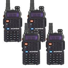4 PCS Baofeng BF-F8+ Dual Band V/UHF 136-174MHz&400-520MHz CTCSS Ham Radio