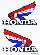 Honda Wing CR CR250 Elsinore Motocross ATV ATC Fuel Gas Tank Sticker Decal Logo
