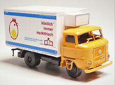 H0 IFA W 50 L Kühlkoffer VEB Kombinate Industrielle Mast Ei Magdeburg KIM DDR
