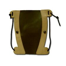 TRADITIONAL LEATHER ARCHERY ARM GUARD AG211 BROWN