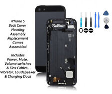 NEW iPhone 5 Back Cover Housing Assembly Replacement Pre Assembled - BLACK