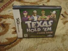 Texas Hold 'em: Poker Pack  (Nintendo DS, 2006)