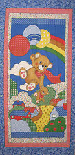 Cotton  fabric Quilt Panel, for Baby, Patchwork, Quiling ,size 80cm x 160 cm NEW