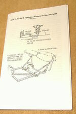 Sidecar Set-Up Manual: How To Set-Up And Operate A Motorcycle Sidecar Outfit