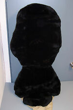 BMW Factory Sheepskin SeatCover (E46-Sport Seat with Leg Extensions)-Black-1 pc