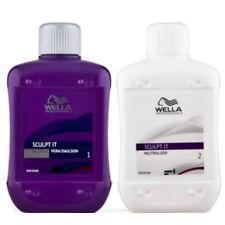 Wella Sculpt It Perm Emulsion + Neutralizer Hair Long Lasting Curls Bouncy 400ml
