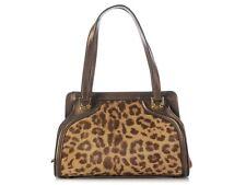 FERRAGAMO Leopard Print Calf Hair Small Bag ~ With a cool retro feel!
