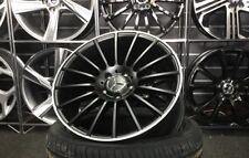 """18"""" Satin Black Mercedes AMG Style alloy wheels & 225/40/18 tyres A/B Class"""