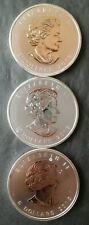 Lot of Three 2013 Canada $8 1.5oz Silver Polar Bear Commemoratives