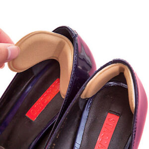 1pair Sticky Fabric Shoes  Heel Inserts Insoles Pads Cushion Liner GripR_yk