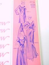 UNCUT Stretch & Sew Sewing Pattern 1580 Peasant Dress Size Sm-XL Ann Person 1977