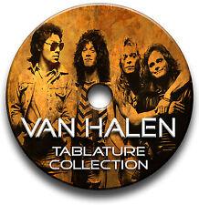 Van Halen Rock Guitar Tab Tablature Song Book Anthologie CD BEST OF