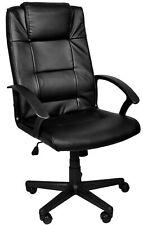 Bürostuhl Chefsessel Drehstuhl Schreibtischstuhl schwarz 8982
