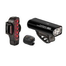 Lezyne - Connect Drive 800XL + Tira - Negro - Juego de Luces - Par con Re