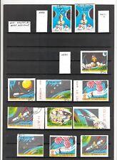 N°425 - HAITI - ( 1969-71 ) - poste aérienne - timbres oblitérés non-dentelés