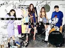 F(X)-4 WALLS / COWBOY-JAPAN CD+DVD D73