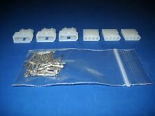 4 Pin Molex Connector Kit 3 Sets With18 24 Awg 062 Pins Free Hanging 0062