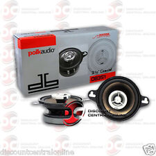 "POLK AUDIO DB351 3.5"" CAR BOAT MOTORCYCLE MARINE AUDIO 2-WAY SPEAKERS (PAIR)"