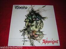 Toxin - Aphorisms, Black Fantasy Records HM201 Vinyl LP 1989