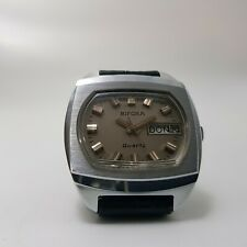 NOS New Old Stock-Vintage Very Rare Bifora  Quarz Herren Armband 80er Jahre -53