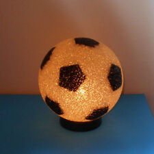 Realistic-SOCCER BALL Lamp Night Light-melted plastic w on/off switch cord-plug