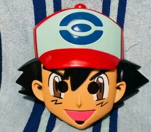 Pokemon Ash Ketchum Mask Hard Plastic Nintendo Costume Halloween Trainer 2014
