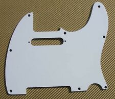 Mighty Mite for Fender® USA MIM TELE TELECASTER PICKGUARD WHITE MM5201US