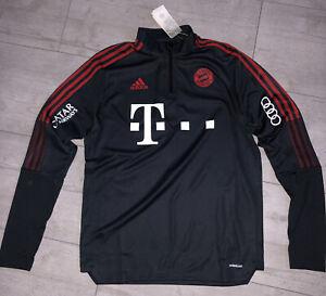 FC Bayern München Adidas Trainingstop Jacke Gr L Matchworn Top