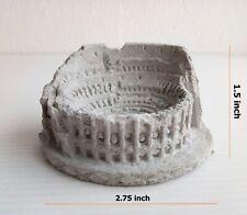 Colosseum Model Cement Miniature Dollhouse Statue Art Craft Home Garden Decor