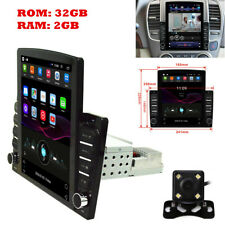 "1DIN 10.1"" Android 8.1 Car Stereo Head Unit Radio GPS Navi DVR WiFi OBD +Cam"