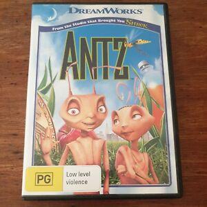 Antz Dreamworks DVD R4 Like New! FREE POST