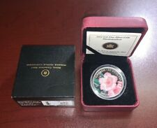 2012 $20 Fine Silver Coin Rhododendron Royal Canadian Mint Canada