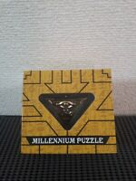 Yu-Gi-Oh! Millenium Puzzle Metal Gold Necklace Pendant From Japan New F/S