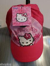 Ragazze M&S età 6-10 anni Hello Kitty Berretto Cappello Bnwt Rosa £ 7