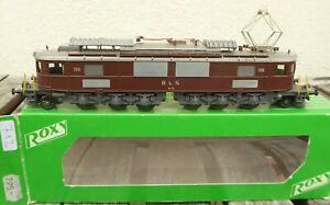 Roxy - Métropolitain H0 Locomotive Électrique AE 6/8 Le BLS Epoque 2/5 Bon, Usé