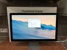 "Boxed Apple Thunderbolt Display A1407 27""  LED Monitor, built-in Speakers"
