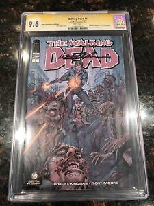 The Walking Dead #1 Neal Adams Cover CGC 9.6 SS Neal Adams