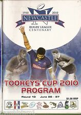 #UU.  NEWCASTLE RUGBY LEAGUE PROGRAM ROUND 10,  26-27  June  2010