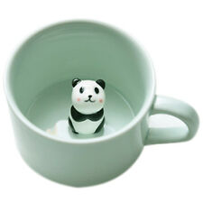 small ceramic milk mug coffee cup Heat-resistant Celadon cup �ˆRed Panda�‰ BT