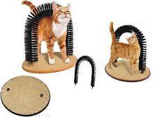 Mascota Gatito Gato Arch Masaje Self aseo cerdas Rayones Juego C / Cat Nip