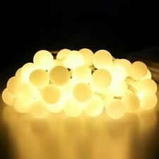 5m 50 LED Garland Ball String Lights Christmas Fairy Tree Outdoor 220V EU Lamp