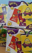 CBeebies 3D 30 Alphabet Match Cards